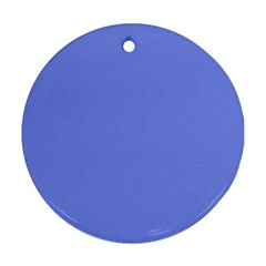 Lake Blue Round Ornament (two Sides)