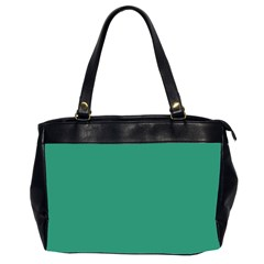 Teal Ocean Office Handbags (2 Sides)  by snowwhitegirl