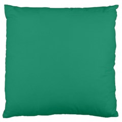 Teal Ocean Standard Flano Cushion Case (one Side)