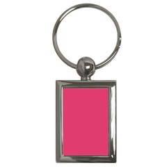 Rosey Day Key Chains (Rectangle)