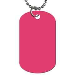Rosey Day Dog Tag (One Side)