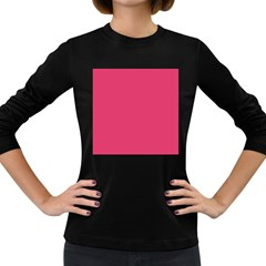 Rosey Day Women s Long Sleeve Dark T Shirts by snowwhitegirl