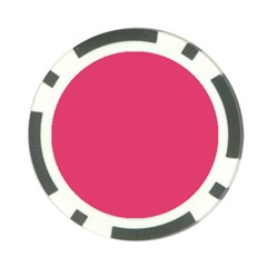 Rosey Day Poker Chip Card Guard