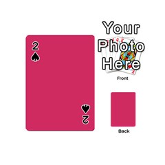 Rosey Day Playing Cards 54 (mini)  by snowwhitegirl