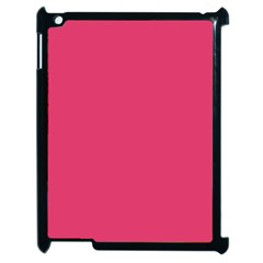 Rosey Day Apple Ipad 2 Case (black) by snowwhitegirl