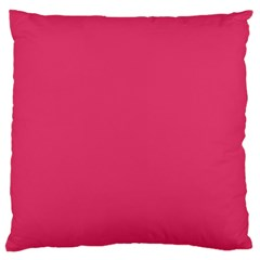 Rosey Day Large Cushion Case (One Side)