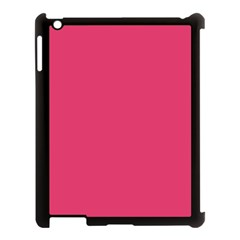 Rosey Day Apple Ipad 3/4 Case (black) by snowwhitegirl