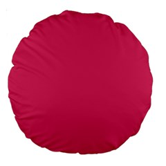 Rosey Day Large 18  Premium Round Cushions