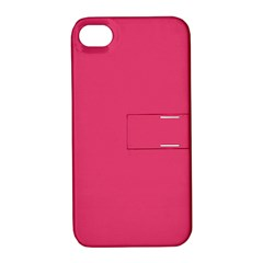 Rosey Day Apple iPhone 4/4S Hardshell Case with Stand