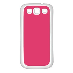 Rosey Day Samsung Galaxy S3 Back Case (White)