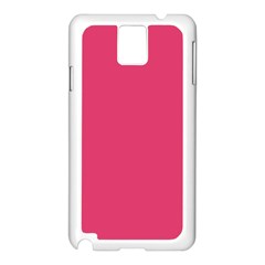 Rosey Day Samsung Galaxy Note 3 N9005 Case (White)