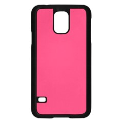 Rosey Day Samsung Galaxy S5 Case (Black)