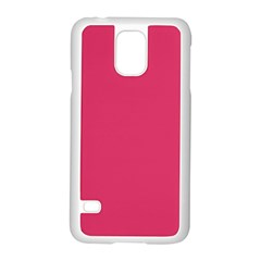 Rosey Day Samsung Galaxy S5 Case (White)