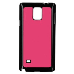 Rosey Day Samsung Galaxy Note 4 Case (Black)