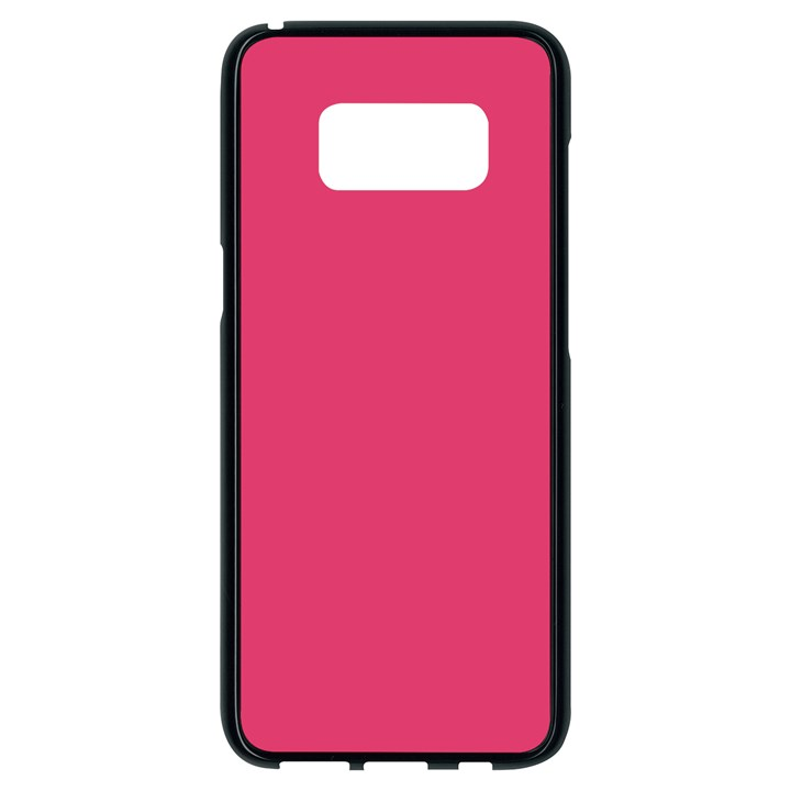 Rosey Day Samsung Galaxy S8 Black Seamless Case