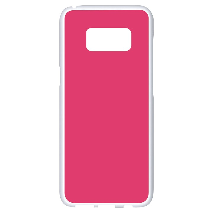 Rosey Day Samsung Galaxy S8 White Seamless Case