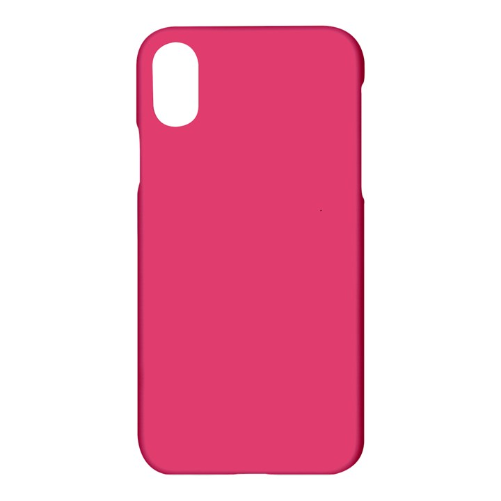 Rosey Day Apple iPhone X Hardshell Case