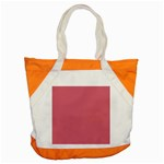 Rosey Accent Tote Bag Front