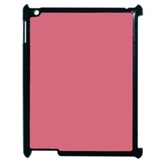 Rosey Apple Ipad 2 Case (black) by snowwhitegirl
