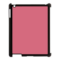 Rosey Apple Ipad 3/4 Case (black) by snowwhitegirl