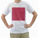 Rosey Men s T-Shirt (White)  Front