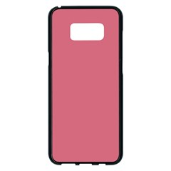 Rosey Samsung Galaxy S8 Plus Black Seamless Case by snowwhitegirl