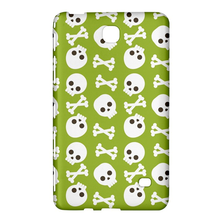 Skull Bone Mask Face White Green Samsung Galaxy Tab 4 (8 ) Hardshell Case