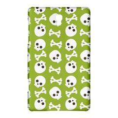 Skull Bone Mask Face White Green Samsung Galaxy Tab S (8 4 ) Hardshell Case