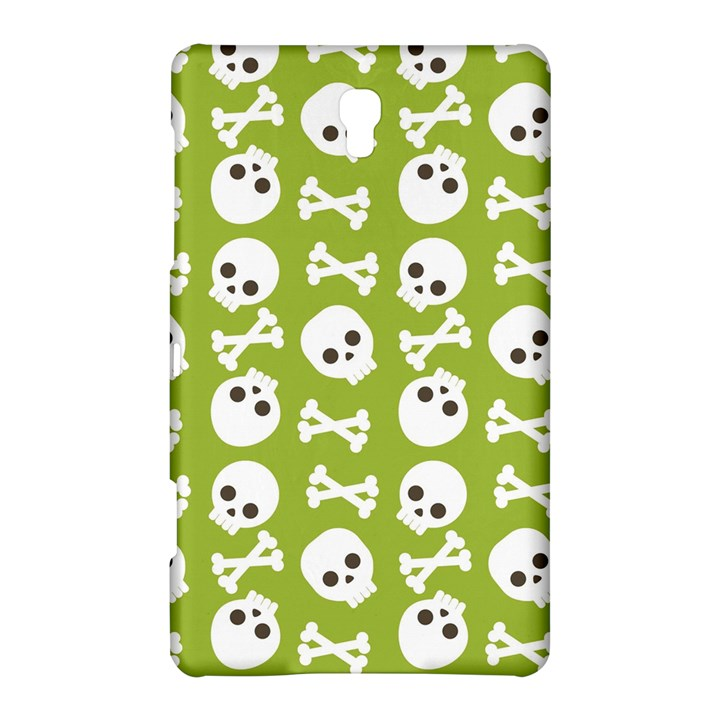 Skull Bone Mask Face White Green Samsung Galaxy Tab S (8.4 ) Hardshell Case