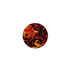 Lava Active Volcano Nature 1  Mini Buttons by Alisyart