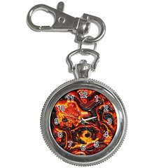 Lava Active Volcano Nature Key Chain Watches by Alisyart