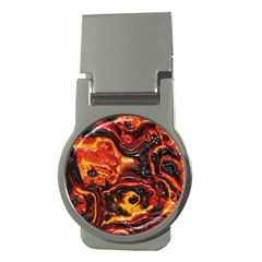 Lava Active Volcano Nature Money Clips (round)  by Alisyart