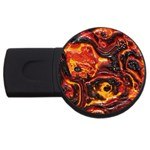 Lava Active Volcano Nature USB Flash Drive Round (2 GB) Front