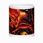 Lava Active Volcano Nature Morph Mugs Center