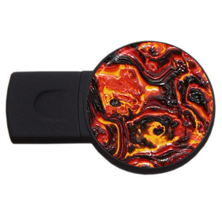 Lava Active Volcano Nature USB Flash Drive Round (4 GB)