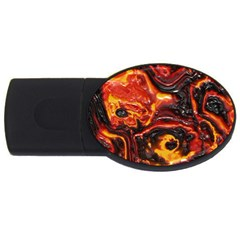 Lava Active Volcano Nature Usb Flash Drive Oval (4 Gb) by Alisyart