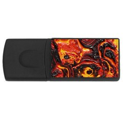 Lava Active Volcano Nature Rectangular Usb Flash Drive by Alisyart