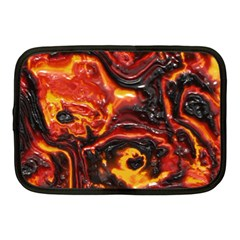 Lava Active Volcano Nature Netbook Case (medium)  by Alisyart