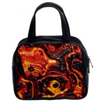 Lava Active Volcano Nature Classic Handbags (2 Sides) Front