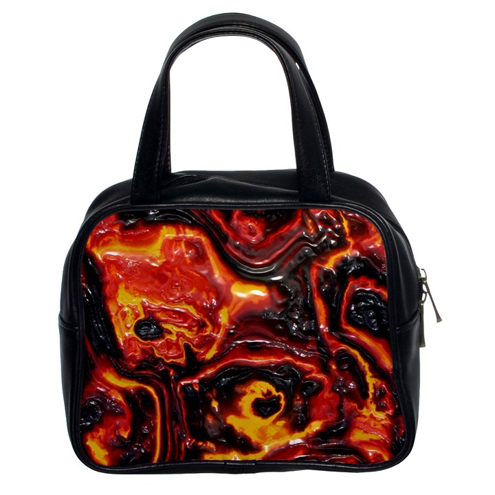 Lava Active Volcano Nature Classic Handbags (2 Sides)