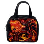 Lava Active Volcano Nature Classic Handbags (2 Sides) Back