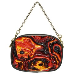 Lava Active Volcano Nature Chain Purses (one Side)  by Alisyart