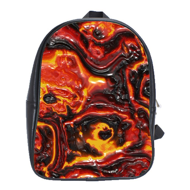 Lava Active Volcano Nature School Bag (Large)