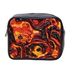 Lava Active Volcano Nature Mini Toiletries Bag 2 Side by Alisyart