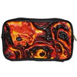 Lava Active Volcano Nature Toiletries Bags Front