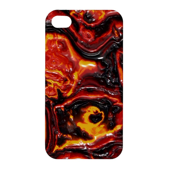 Lava Active Volcano Nature Apple iPhone 4/4S Hardshell Case