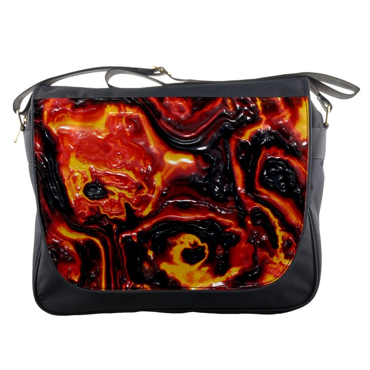 Lava Active Volcano Nature Messenger Bags