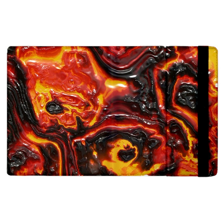 Lava Active Volcano Nature Apple iPad 2 Flip Case