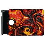 Lava Active Volcano Nature Apple iPad 2 Flip 360 Case Front