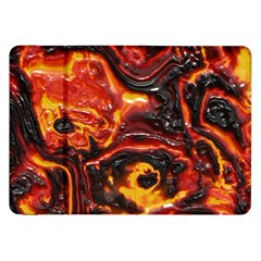 Lava Active Volcano Nature Samsung Galaxy Tab 8 9  P7300 Flip Case by Alisyart